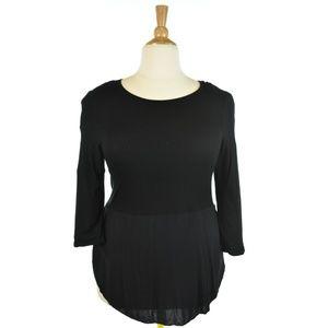 Vince Camuto Black Long Sleeve Shirt
